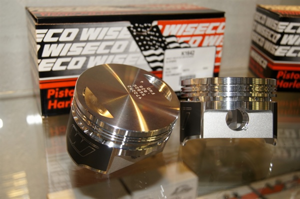 Wiseco pistons price upon request