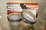 Hard anodized Wiseco pistons
