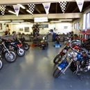 The Motorcycle Shop with workshop